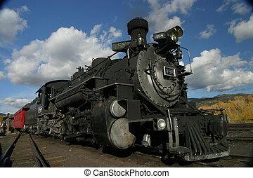 Cumbres-Toltec Engine - The Cumbres Toltec Narrow Gauge...