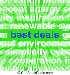 Best Deals Words Mean Low Prices Or Amazing Offers - Best...