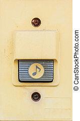 old doorbell - vintage doorbell buzzer