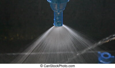 water spreader, modern spay - blue water spreader, modern...