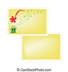 12607 Saint Patrick Card