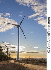 Wind Turbines at Sunrise 5