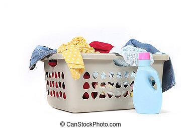 Rodzina, Chore, pralnia, usługiwanie, czuć się, zrobiony