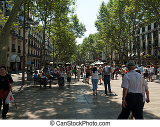 Barcelona - La Rambla