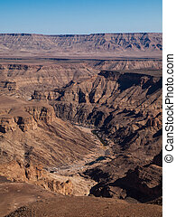 Fish River Canyon - The second largest canyon in the world...