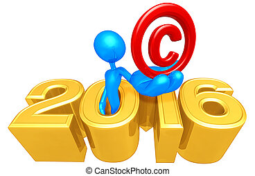 Copyright Mark In The Year