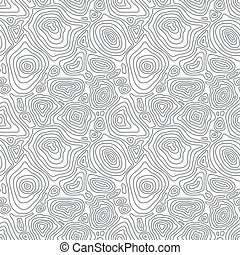 Vector seamless abstract simple monochrome pattern with...