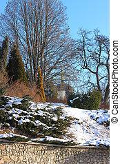 修道院, 冬天