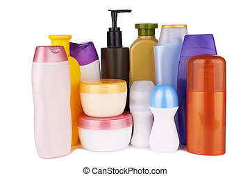 cosmetic products - different cosmetic products for personal...