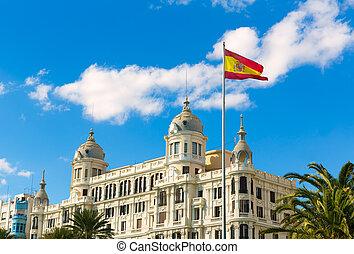 Alicante Explanada de Espana casa Carbonell in Spain -...