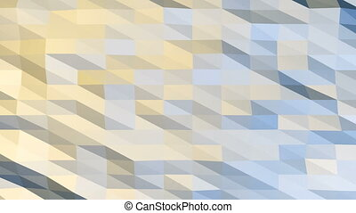 Polygonal Background Loop - Seamless loop of abstract...