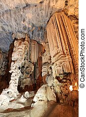 Limestone Cavern Formations - Beautiful limestone formations...
