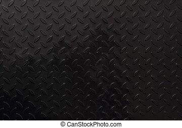 black steel texture as dark technology background