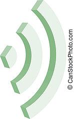3d wi-fi sign