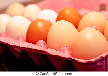 Organic Naturally Colored Eggs - Organic naturally colored...