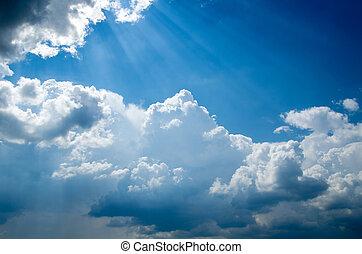 azul, céu
