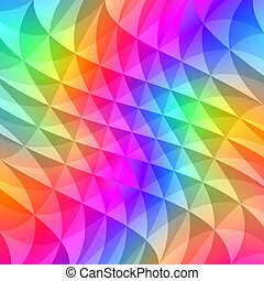 prism squares pattern - texture of waving shapes in bright...