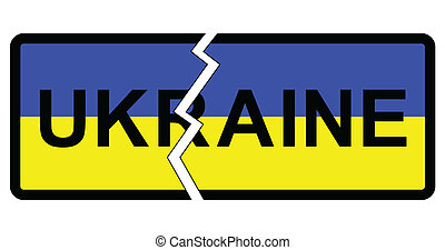 Ukraine - Representation of possible partition of Ukraine...