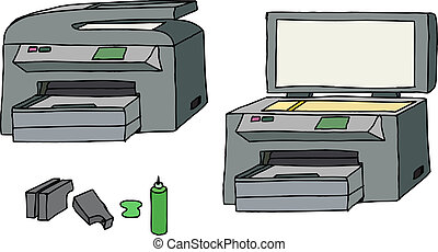 All In One Printer - All-in-one printer, scanner, copier...