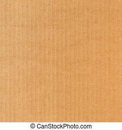 Cardboard background texture. Square format.