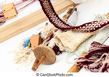Knitting equipment - some traditional sewing and knitting...