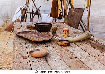 Middle ages table