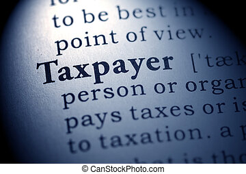 taxpayer - Fake Dictionary, Dictionary definition of the...