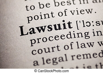 lawsuit - Fake Dictionary, definition of the word lawsuit