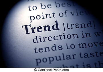 trend - Fake Dictionary, Dictionary definition of the word...