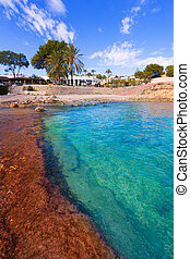 Moraira Cala Andrago beach in Teulada Alicante at...