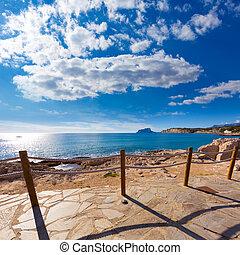 Moraira in Mediterranean Alicante at Spain - Moraira in...