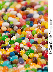 Jellybeans - Lots Jellybeans piled on each other