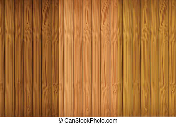 An empty wooden board