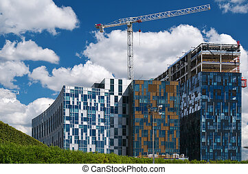 Construction of modern buildings - Construction of modern...