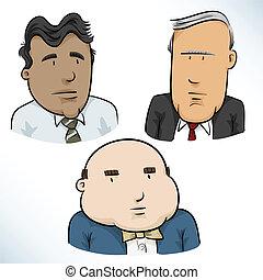Businessman Faces