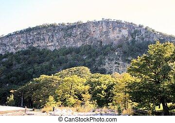 Garner State Park Cliffs - Garner state park natural area...