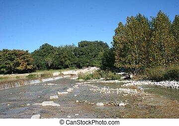 Garner State Park Dam - Garner state park natural area...
