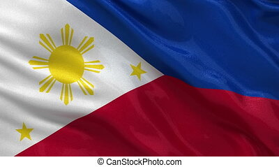 Flag of the Philippines seamless