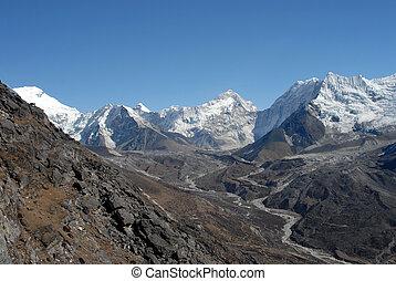 Lhotse glacier