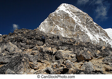 Kala Patthar peak - himalayan peak near Mt. Everest