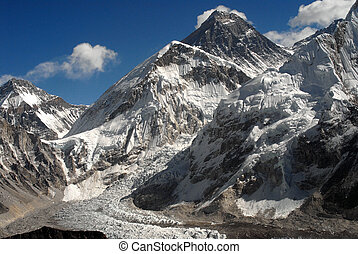 Mt Everest - south face - MtEverest, Nepal, Himalayas