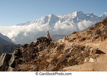 Typical himalayan landscape