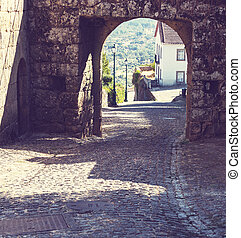 Spain village - street in Spain village