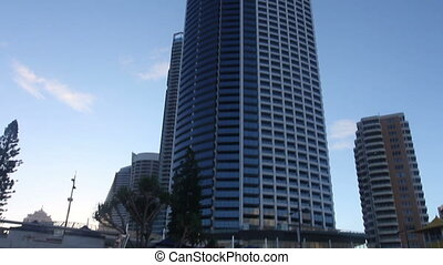 Skyscraper. Gold Coast, Australia. - Skyscraper. Gold Coast,...