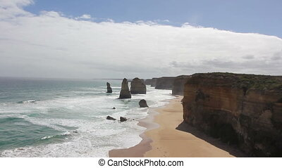Twelve Apostles on Great Ocean Road, Australia.
