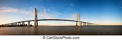 Vasco da Gama panorama - Beautiful panoramic image of the...