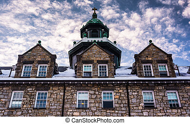 The seminary at Mount Saint Mary's University, in...