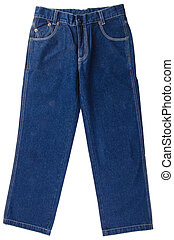 Jeans. children's jeans on a background - Jeans. children's...