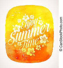 Summer time greeting