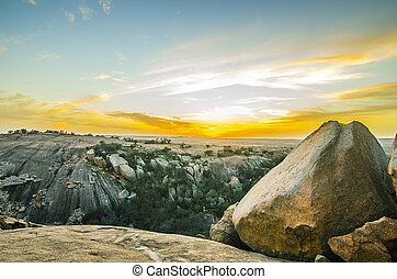 Enchanted Rock Texas - 13020 years ago (in 2011 ) on...
